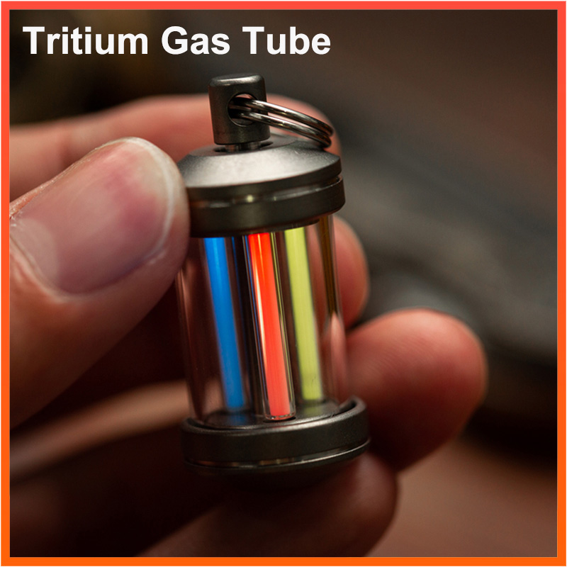 3*22.5mm Outdoor Survival Emergency Tritium Gas Light Tube Emergency Lights Automatic Glowing Tool Self Luminous Mini Lights