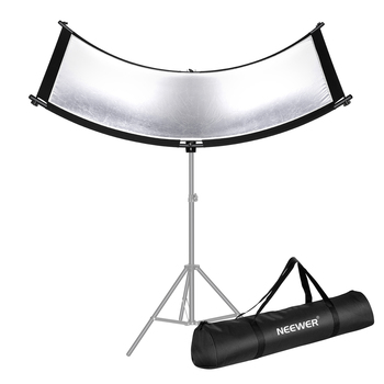 Neewer Clamshell odbłyśnik dyfuzor do studia i fotografii torba do noszenia Arclight zakrzywione oświetlenie reflektora tanie i dobre opinie CN (pochodzenie) 10095737 2 65