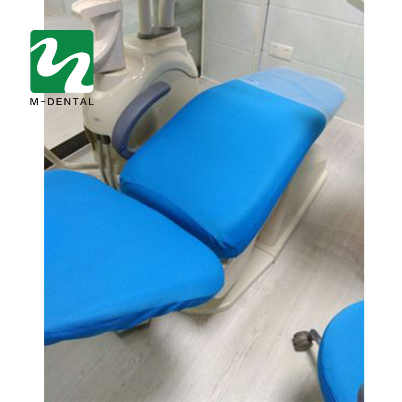 4 шт./компл. высокие эластичные Зубные Блок Чехлы стоматологическое кресло сиденья Защитный чехол Комплект сиденье протектор комплект - Цвет: light blue