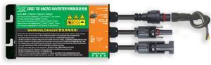 Микросетевой инвертор MPPT, 260 Вт/300 Вт/350 Вт, входное напряжение, для AC120V/230 В, 50/60 Гц, водонепроницаемый, для домашнего использования
