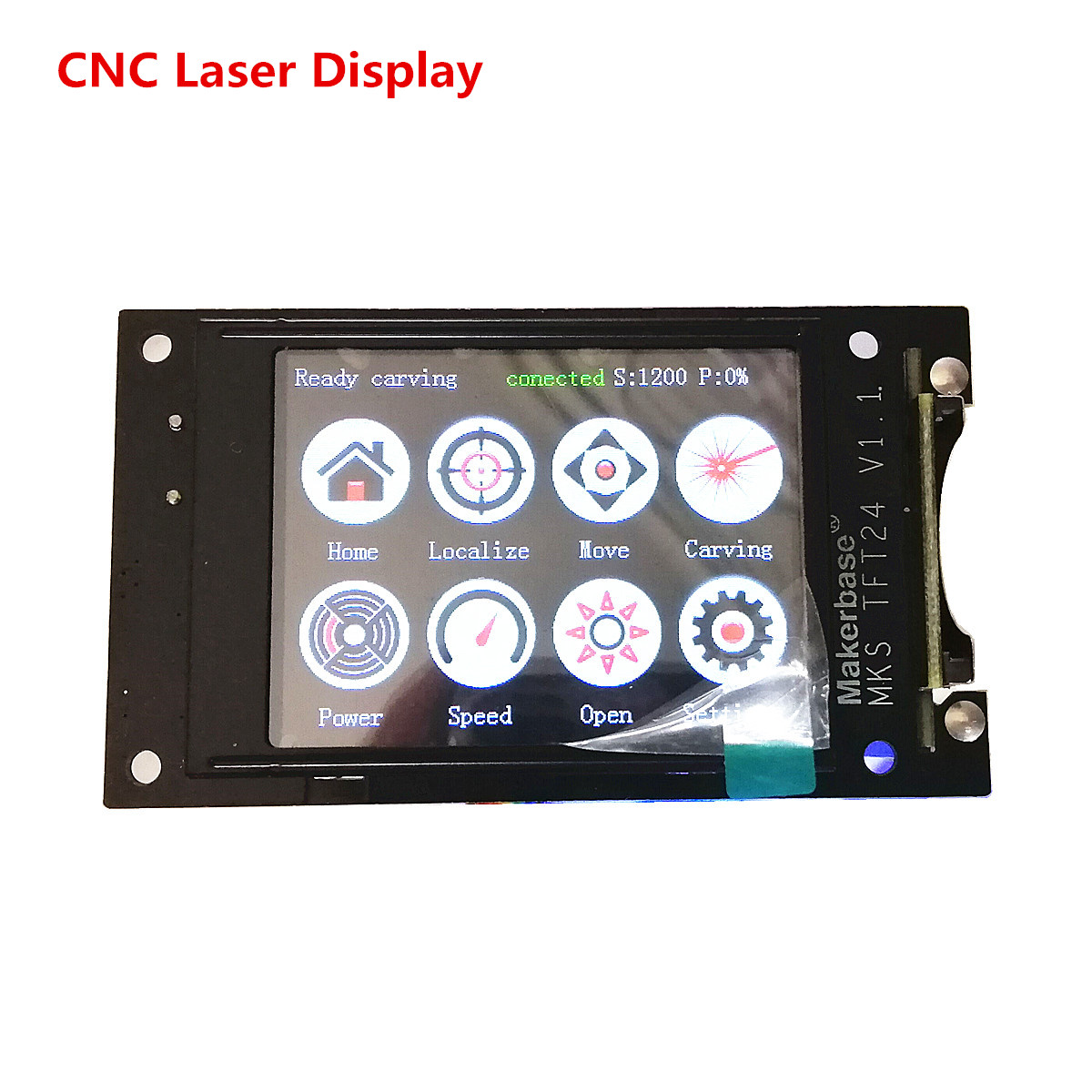 GRBL 1.1 OFFLINE Display Controller TFT24 LCD Display DIY CNC Laser Starter Parts For CNC 3018 Pro Laser Engraver Mahine