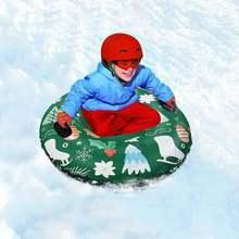47 дюймовые надувные лыжи зимняя игрушка для улицы Холодостойкие