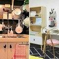 Набор из 4 кошек  винтажная чугунная Мебельная ручка и дверная ручка для шкафа  котята  креативный и милый домашний декор  Bl