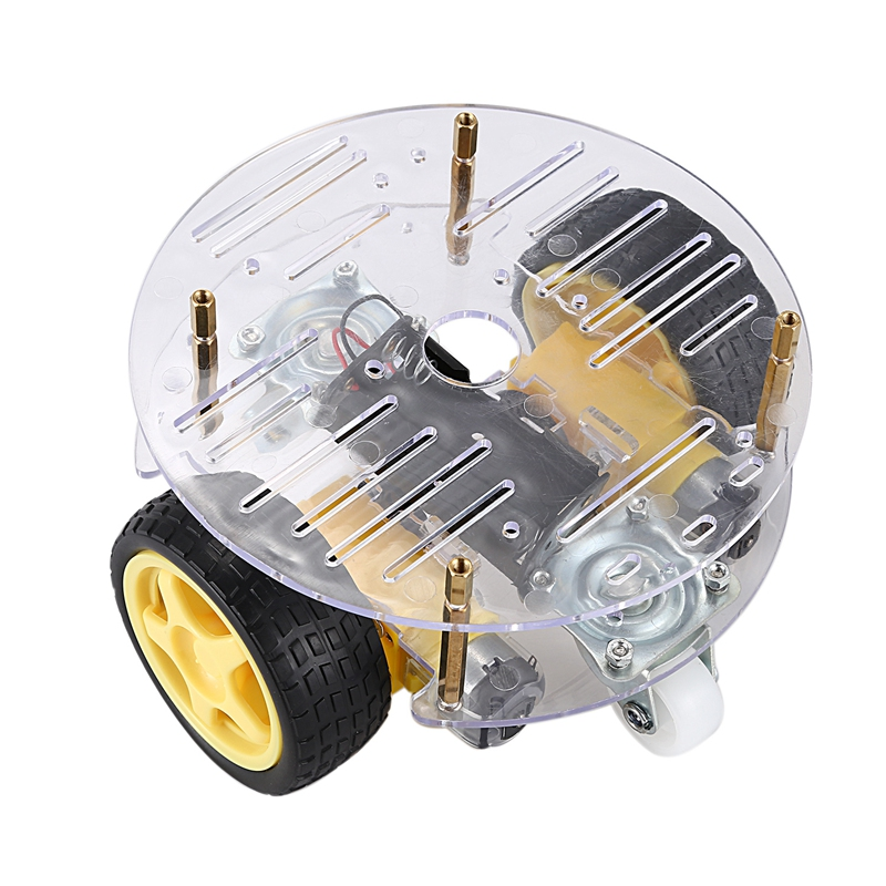 DIY Kit Smart Robot Car Electronic Production TT Motor Automobile Parts Assembly Suite Speed Encoder 2WD for Arduino