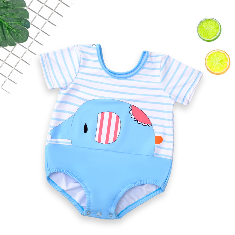 Baby Swimsuit Children Girls BOY'S Baby One-piece Boys And Girls Princess South Korea Cute Children Tour Bathing Suit