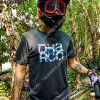 Enduro Jersey Downhill Moto Jersey Short Sleeve Motorcycle MTB Motocross Jersey MX Spexcel ATV Cycling Jersey hombre bmx shirt