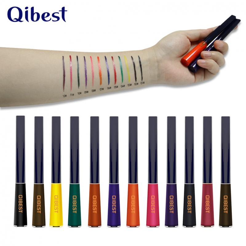 Hot High Gloss Matte Eyeliner Long Lasting Not Dizzy Waterproof Eye Makeup Pen Easy To Wear Suitable For Novice TSLM2