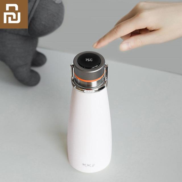 Original Youpin kkf KISSKISSFISH SU 47WS Smart Vakuum Thermos Wasser Flasche Thermos Tasse Tragbare Wasser Flaschen
