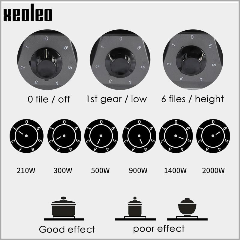 XEOLEO Electric Heater Stove Mini Hot Plate Cooker Electrothermal Tea/Coffee/Milk Heating Furnace Home Kitchen Appliance 2000W - 2