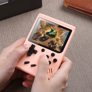 Image 2 - NEW 500 Game Pocket Game Console 3.0 inch Mini Handheld Game Player 8 Bit Retro Consoles LCD Video Gaming Console For Kids Gifts