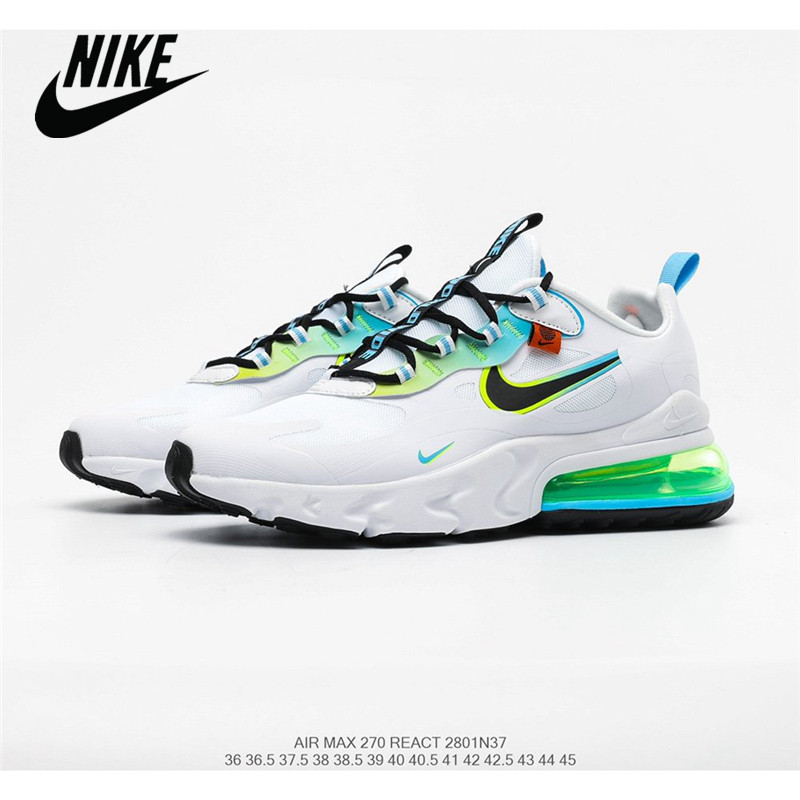 <font><b>Nike</b></font> <font><b>Air</b></font> <font><b>Max</b></font> 270 React <font><b>Men's</b></font> Breathable Mesh Running <font><b>Shoes</b></font> Size 40-45 image