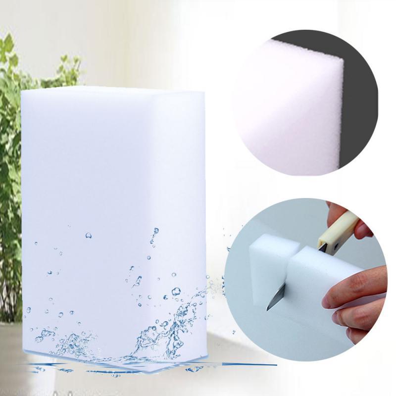 20 шт. губка меламиновая губка для чистки Кухня Чистящая губка для мытья посуды Инструменты для уборки ванной комнаты 100*60*20 мм