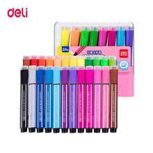 Drawing-Set Watercolor-Pens Deli Painting-Markers Art-Supplies Artist Washable Highlights