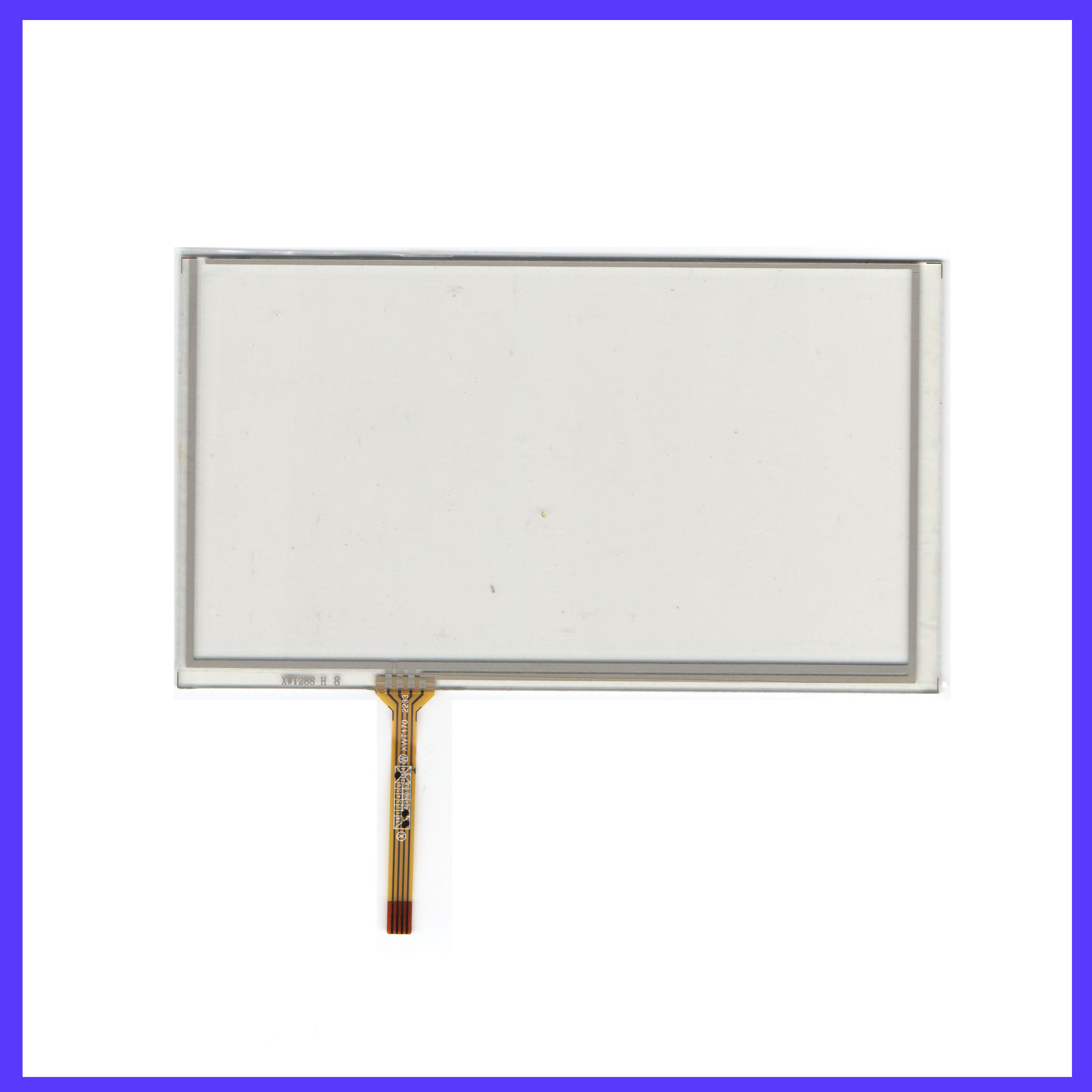 ZhiYuSun For SONY XAV-AX100 This Is Compatible New  Touch Screen   For GPS GLASS  Compatible XAVAX100