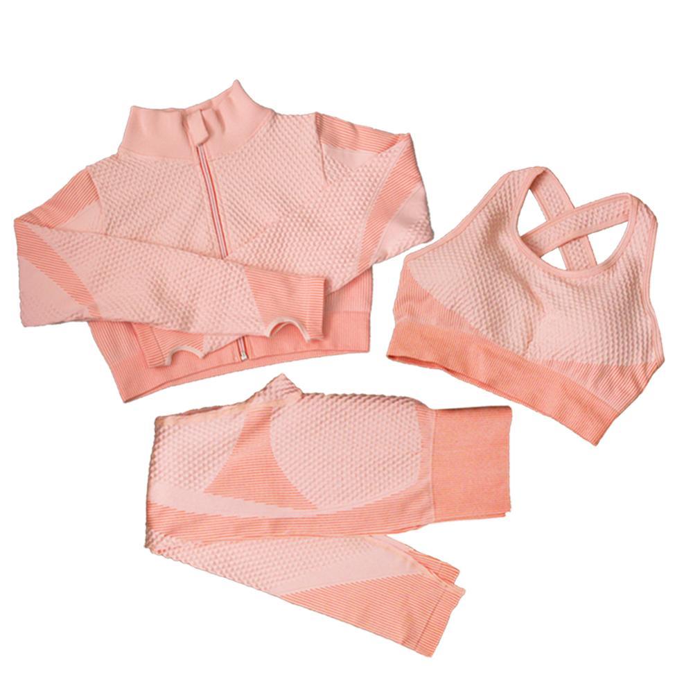 3pcs Pink Suits