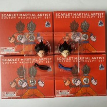 In Voorraad Demoniacal Fit Pak Voor Dragon Ball Z Dbz Shf Ssgss Rode God Goku Custom Headsculpt Set Figuur Brinquedos figurals(China)
