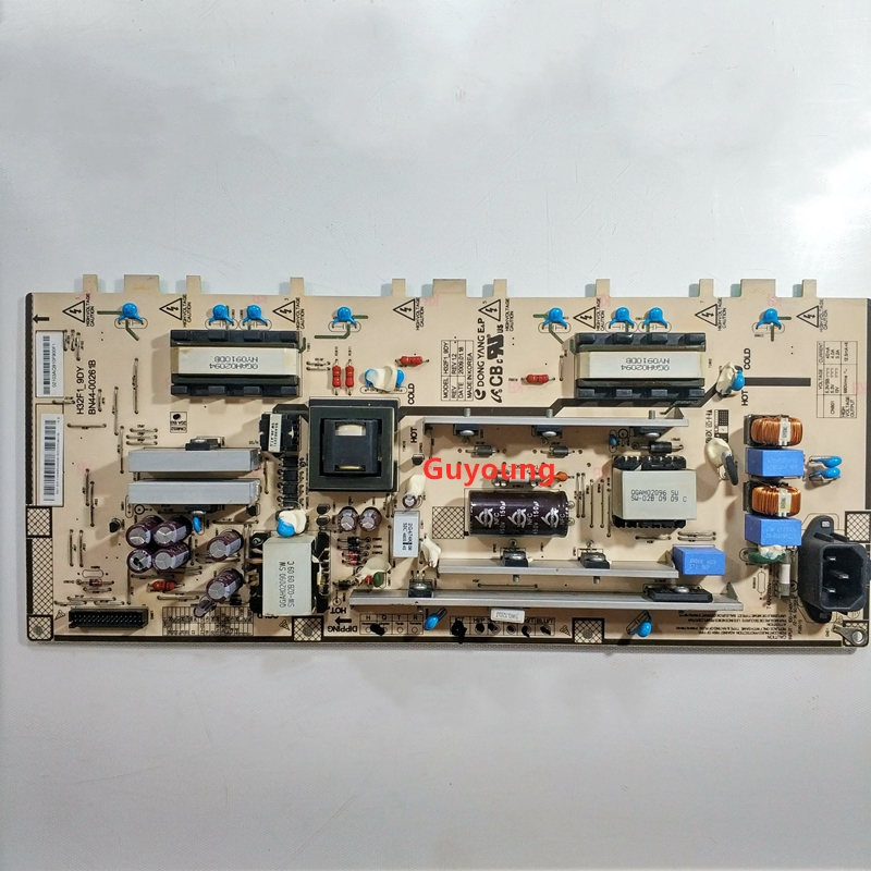 100-テストsamgsung-la32b530p7r-la32b450c4h-bn44-00261b-h32f1_9dy電源ボード