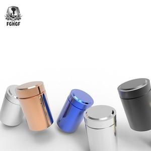 Многоцветный герметичный контейнер с защитой от запаха, алюминиевый контейнер для трав, герметичная банка для чая, Красивая Горячая керами...