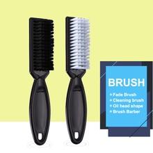 Fade Brush Comb Scissors Cleaning Barber Shop Skin Vintage Oil Head Shape Carving