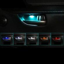Lsrtw2017 для Lexus Nx NX200 200t 300h Автомобильная дверная чаша атмосферный светильник декоративные внутренние молдинги аксессуары