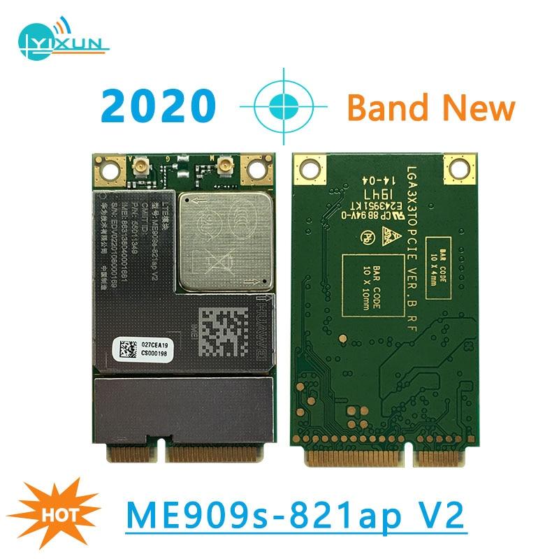 2020 New Huawei ME909s-821A V2 MiniPCIe 4G Wireless Module LTE FDD B1 B3 B5 B8 LTE-TDD B38 B40 B41 Replace ME909S-120 ME909S-821