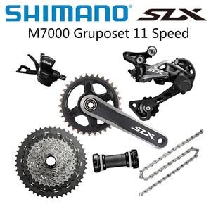 SHIMANO SLX M7000 1x11 Speed Groupset 32T 34T Crankset Mountain Bike Groupset 42T 46T M7000 Rear Derailleur Shift Lever