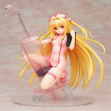 Hot Sales 20cm Anime TO Love Eve Nurse ver PVC Action Figure Collectible Model Toys For Gifts sexy girl anime to love ru darkness golden darkness konjiki no yami nurse ver 1 7 scale action figure collectible model toy