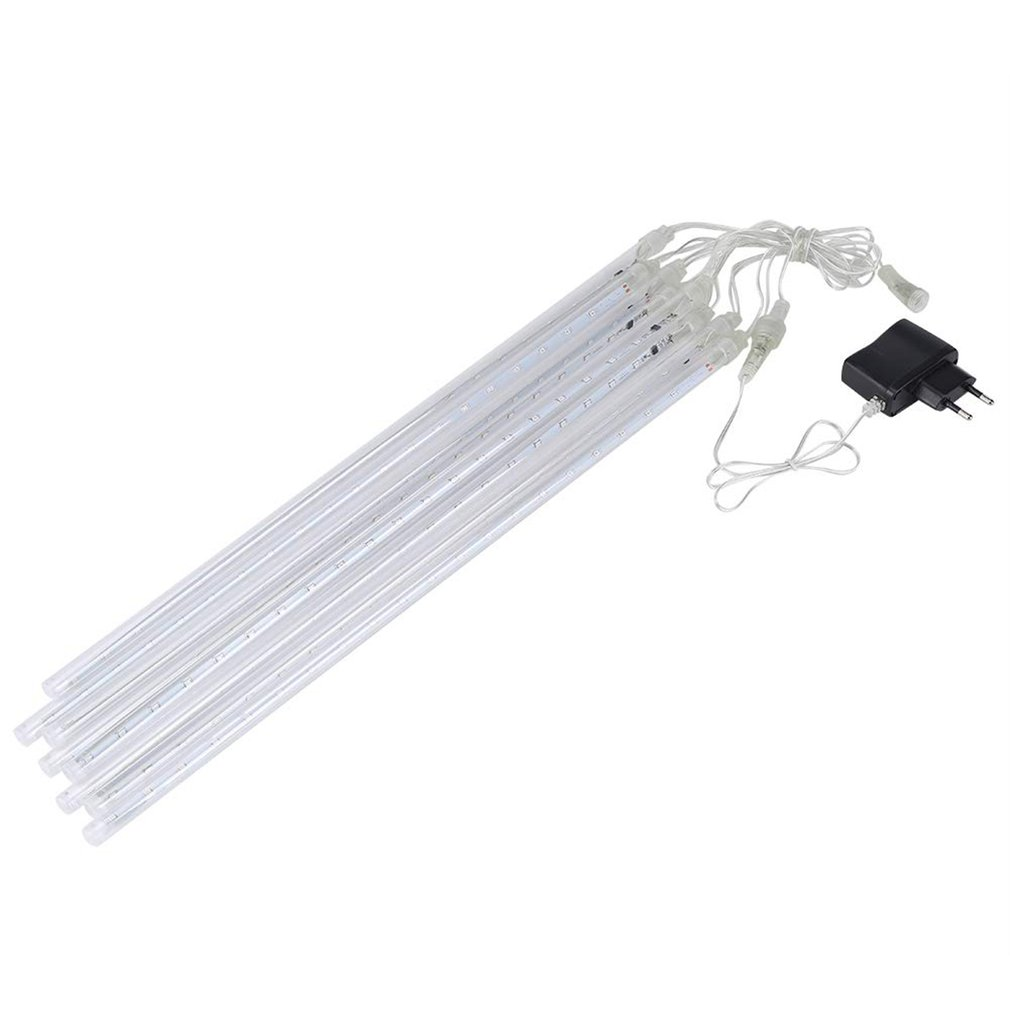ICOCO Multi-color 30CM Meteor Shower Rain Tubes AC100-240V LED Christmas Lights Wedding Party Garden Xmas String Light Outdoor