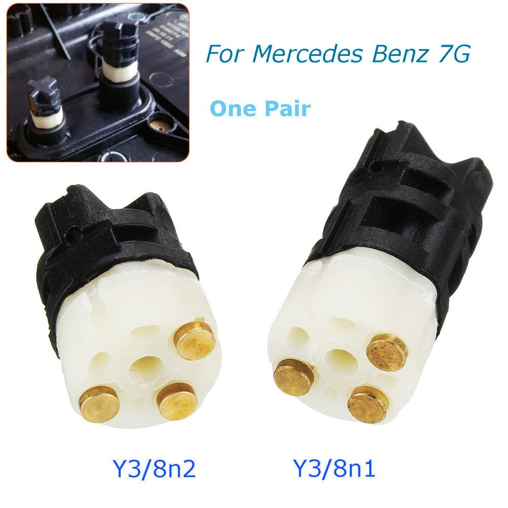 2 Pcs/Set Control Module Sensor 722.9 Y3/8n1 Y3/8n2 For Mercedes Benz 7G Auto Accessory Automatic Transmission Solenoid