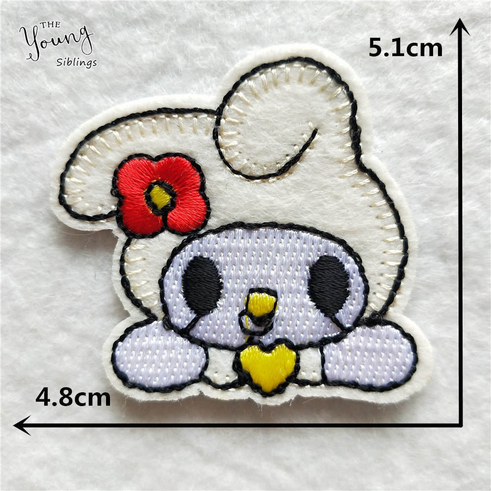 """1/"""" Cross Stitch Spring Chick Embroidery Patch Applique"""