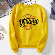 Fashion Women shirt Magician Dyhamo Slogan Long Sleeve Autumn Spring Shirts Streetwear Tops S-XXXL