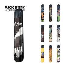 Magic Shark Tiger Venom Lion Garfield Spider Man Pod Vape Kit Case Cover Sticker Film for Relx Alpha a new smok slm stick thick vapor pod vape kit 250mah electronic cigarette kit small vape pen kit vs smok nord drag nano minifit