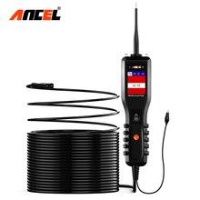 ANCEL probador de batería de coche PB100, probador de circuito eléctrico, 12V/24V, sistema eléctrico, escáner de batería