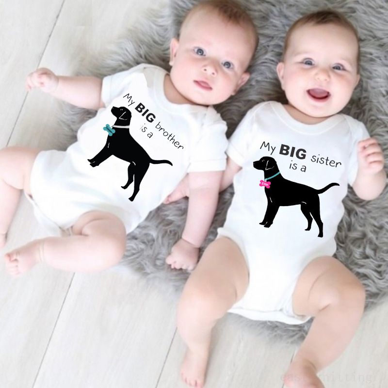 French Bulldog Pilot Baby Boys Girls Jumpsuits Short Sleeve Romper Bodysuit Bodysuit Jumpsuit Outfits Black
