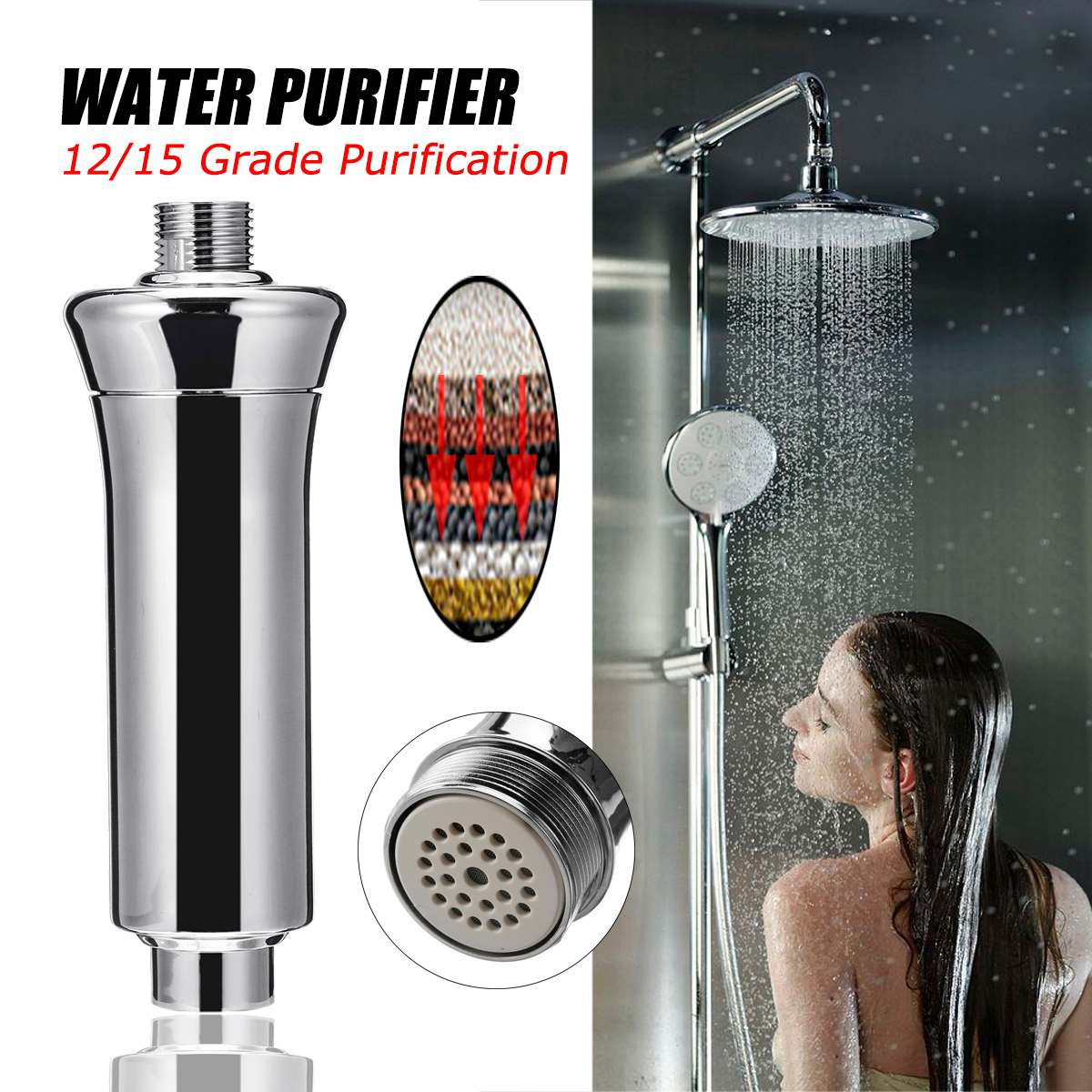 Tap Water Purifier Kitchen Faucet Washable Ceramic Percolator Mini Water Filter Filtro Rust Bacteria Removal Replacement Filter|Water Filters| |  - title=