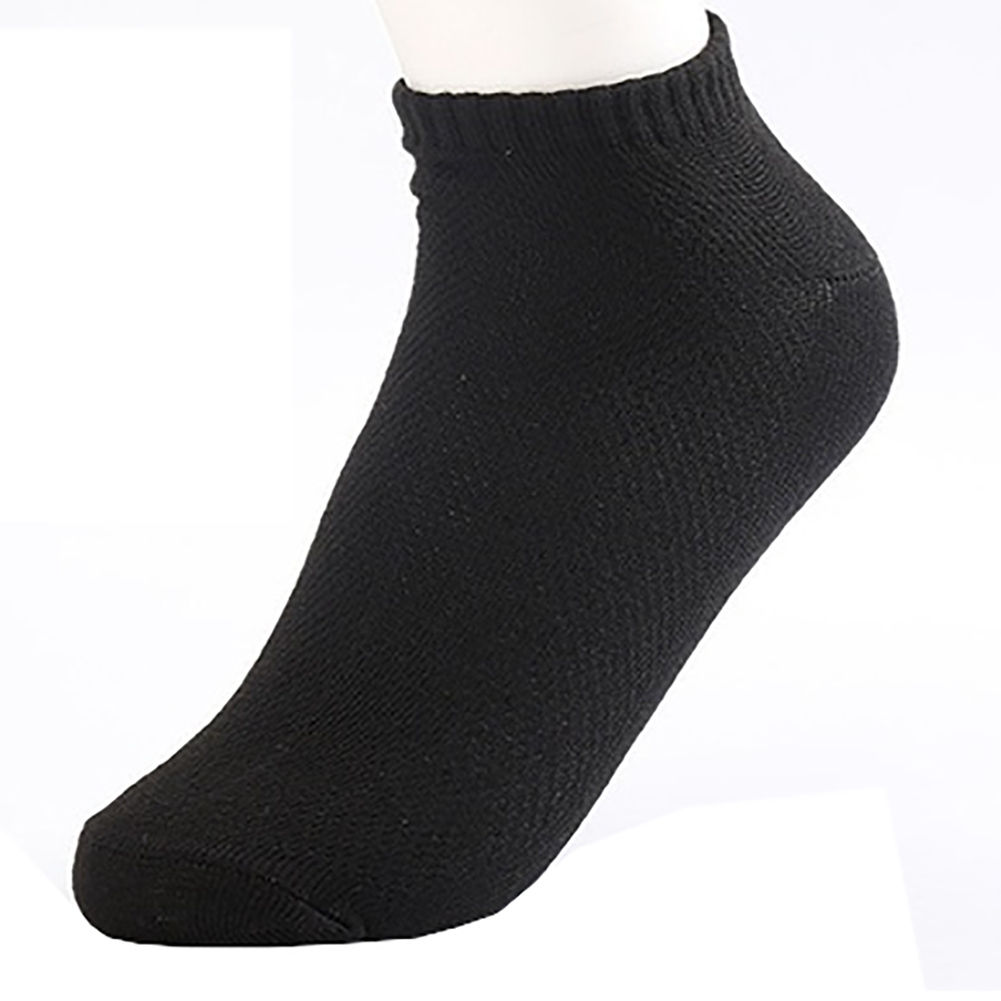 PLOFR-12  men cotton  Casual Mesh Summer Breathable short socks 4 colors