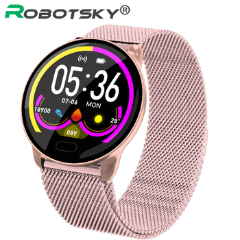 K9 Smartwatch Women Men Sports Fitness Tracker IP67 Waterproof Heart Rate Blood Pressure Health Sleep Smart watch PK V11 V12 Q9 image