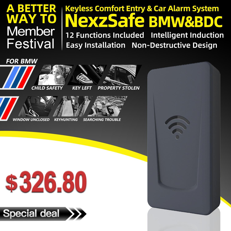 Nexzsafe accès automatique sans clé confort d'entrée pour BMW X1, X2, Mini, 2/GT, X5/X6/M, i3.i8, nouveau système X3 BDC1 BDC2 BDC3 5 plus récent