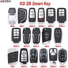 KEYDIY Smart Key Universal Multi functional ZB07 ZB08 ZB10 ZB12 ZB15 ZB16 and more  Remote Key for KD X2 Key Programmer