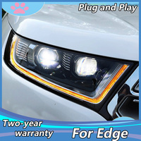 Car styling for Ford Edge 2015 2018 ALL LED headlight Edge OEM LED headlight Accessories