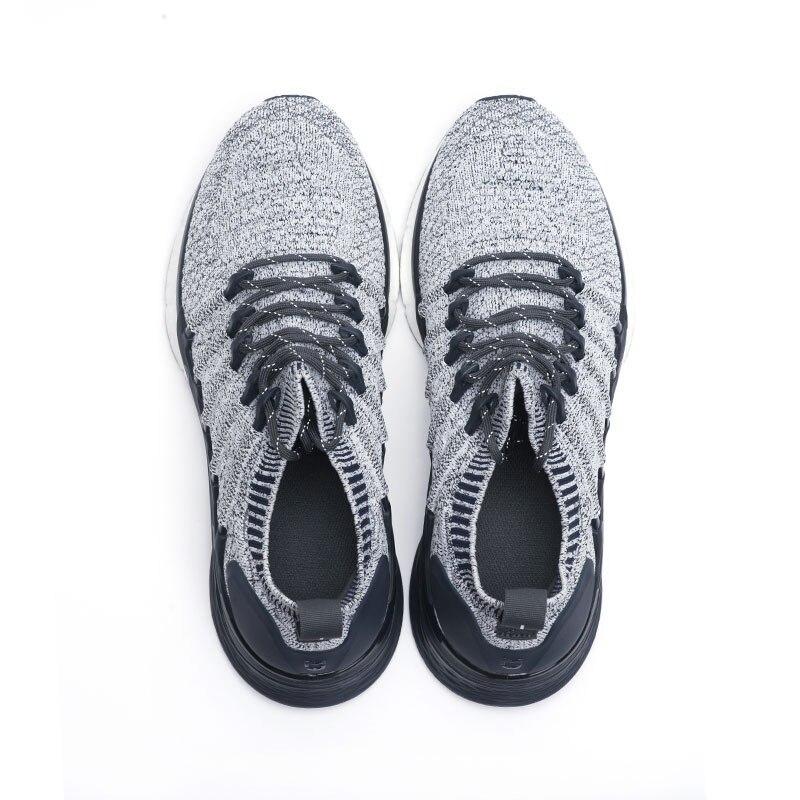 Baskets originales Xiaomi Mijia 3 hommes Sports de plein air Uni-moulage 3D système de verrouillage en arête de poisson tricot hommes supérieurs chaussures de course - 3