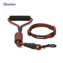 Get more info on the Pet Nylon Leash Collar Set Dog Adjustable Durable Rope Training Leash for Small Medium Big Dogs Pet Neck Collars Dog Cat Walking