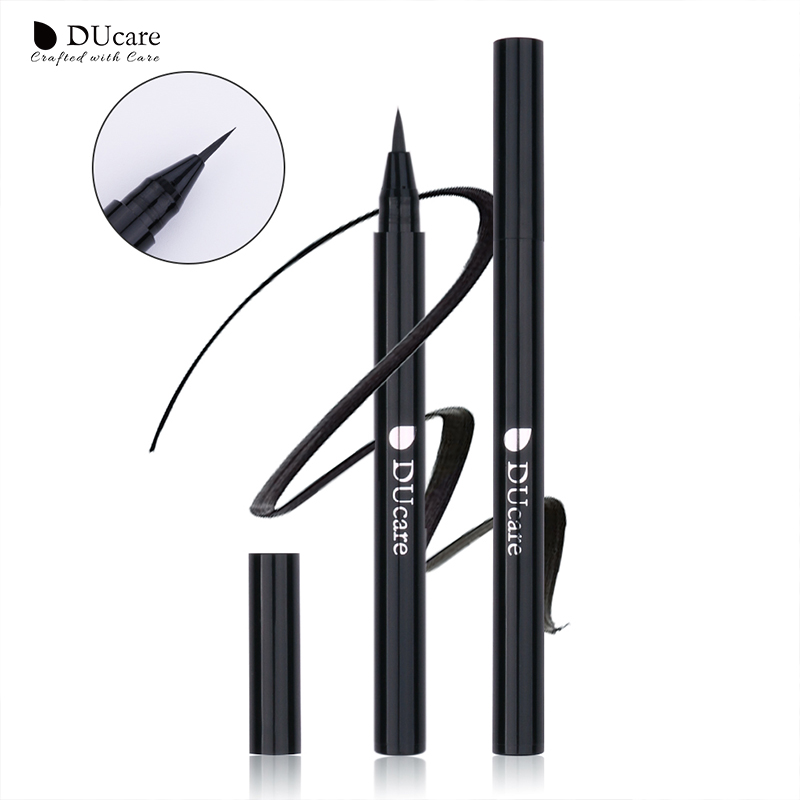 DUcare Eyeliner Liquid Eyeliner Pencil Waterproof Black Smooth Eye Liner Pen Long-lasting Dry Fast Beauty Essential Makeup Tools