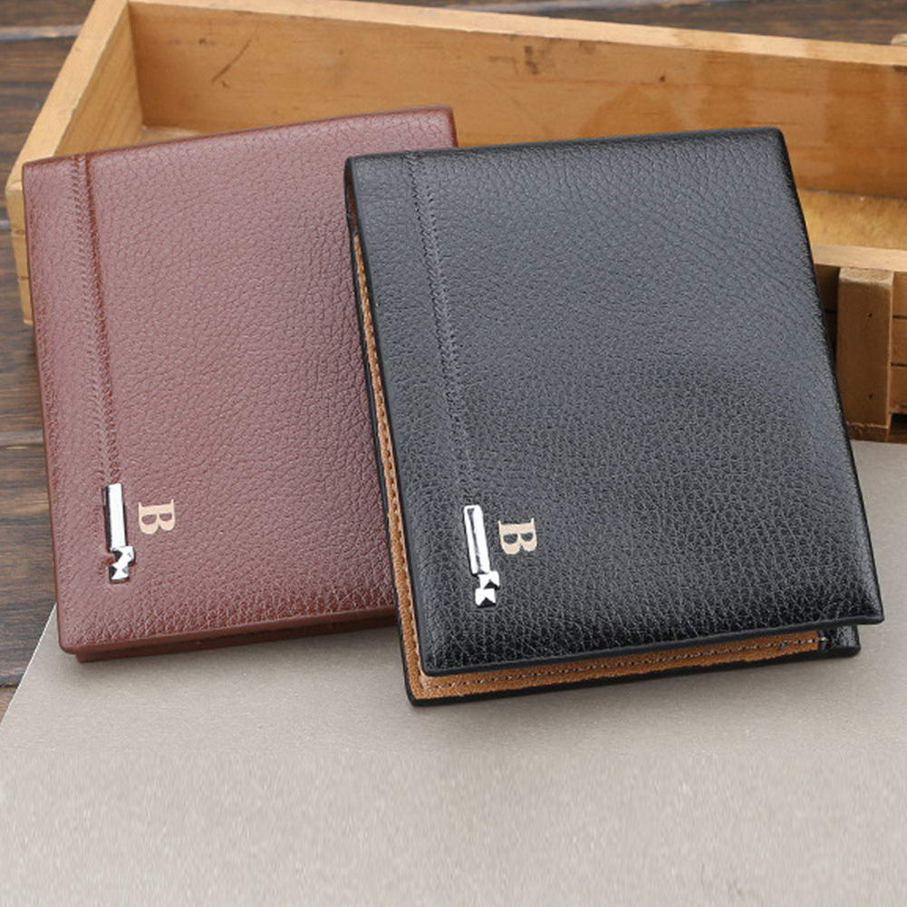Bifold Wallet Card-Holder Slim Purse Men for Organzier with Sim-Slot New-Style