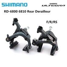 цена на Shimano Ultegra 6800 road bike Bicycle Caliper Brake Set BR-6800 (Front + rear) BR-6810 DIRECT MOUNT Caliper BRAKE