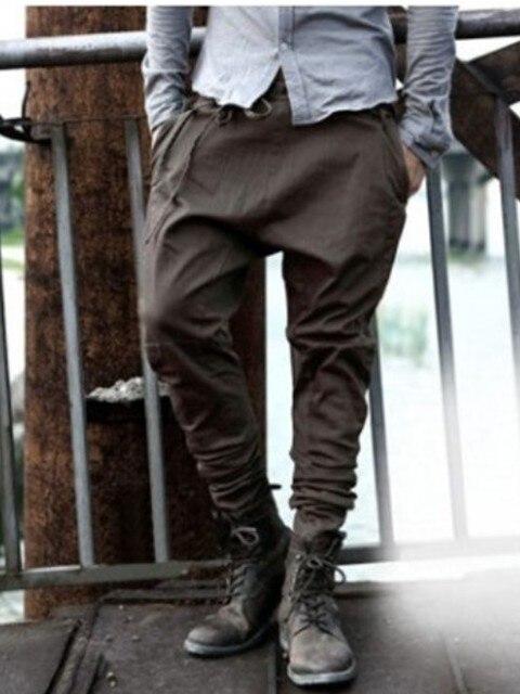European and American trendy young men's pants, all kinds of leggings, leggings, men's pants, lace up, loose casual pants, Leggi 13
