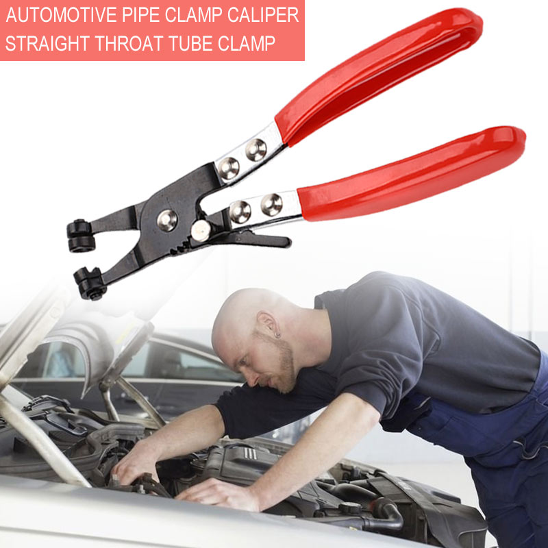 Vehemo Red Black Pipe Wrench <font><b>Car</b></font> Removal <font><b>Tool</b></font> Snap Clamp Nippers Pipe Clamp for Handle Pliers Auto <font><b>Mechanic</b></font> Multi Function image
