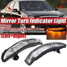Rétroviseur de voiture CLIGNOTANT LED Lampe Indicateur Pour Mercedes-benz W211 W221 W216 W219 2007-2011 rétroviseur indicateur lumineux