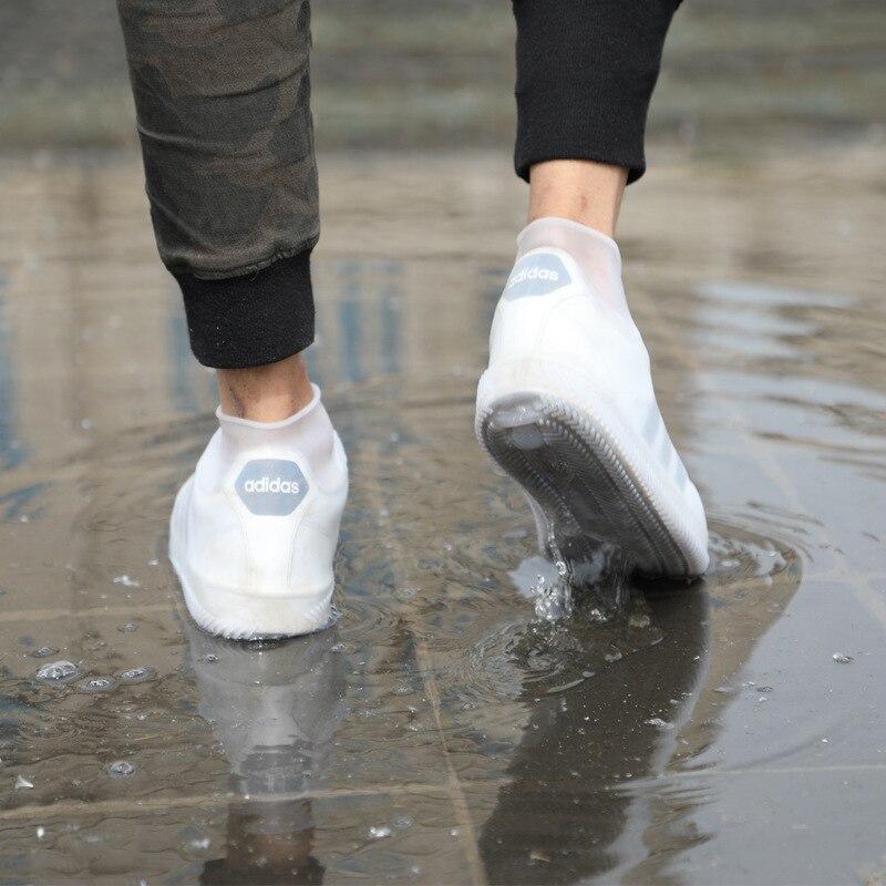 S-XXL Reusable Rain Gear Boots Snow Shoe Covers Waterproof Shoes Overshoe