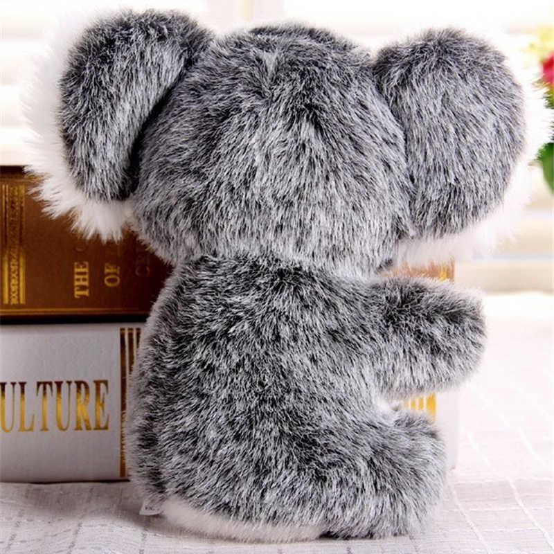 13CM 18CM הגעה חדשה סופר חמוד קטן קואלה דוב בפלאש צעצועי הרפתקאות קואלה בובת תינוק ילדים יום הולדת חג המולד מתנה